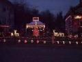 Merry Christmas Yard Display 2009