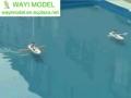 Solar Powered Row Boat