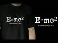 Albert Einstein E=mc2 / T-shirt
