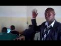 Headmaster Of Noonkodin Secondary School Expressing His Appr