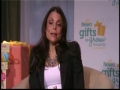 Pampers And Bethenny Frankel Honor Parents