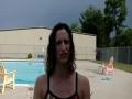 Jackie Lebeau Anderson Teaches Deep Water Cardio Choreography