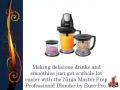 Ninja Blenders Reviews: The Secret Behind The Ninja Master Prep Professional Blender